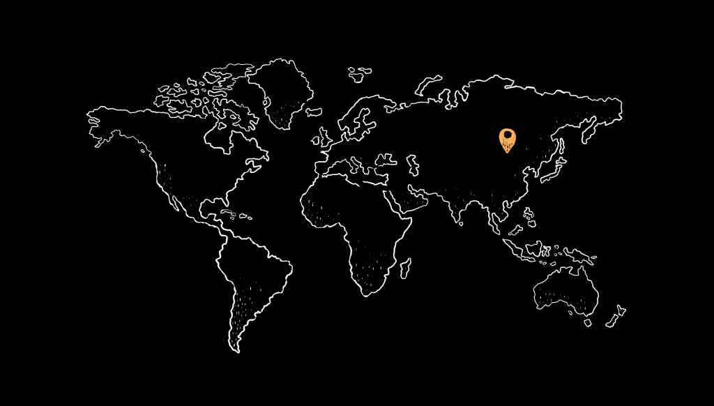 Map that shows a pin upon Chinese territory
